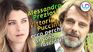 Alessandro Preziosi e Vittoria Puccini: Ecco Perchè Si Sono Lasciati!