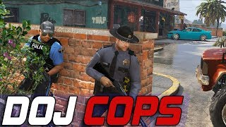 Dept. of Justice Cops #583 - We Got A Runner