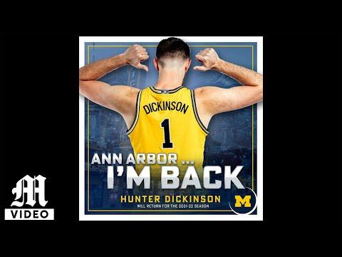 Hunter Dickinson Returns to Michigan