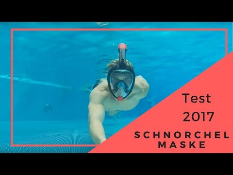 TEST! Tauchermaske Vollgesichtsmaske Schnorchelmaske Easybreath
