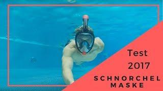 2017 TEST! Tauchermaske Vollgesichtsmaske Schnorchelmaske