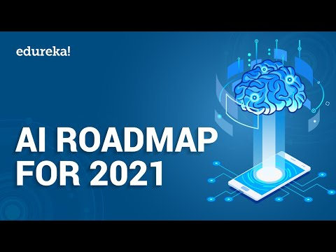 AI Roadmap For 2021 | Learn AI | Artificial Intelligence Careers | Data Science Training | Edureka