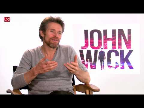 Interview Willem Dafoe JOHN WICK