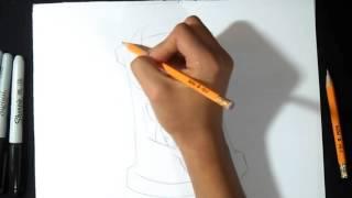 Как нарисовать  баллончик с краской Демона   граффити(, 2015-11-24T13:37:55.000Z)