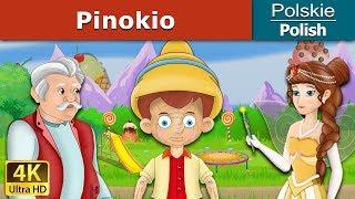 Pinokio - Pinocchio in Polish - 4K UHD - Polish Fairy Tales - Bajki polskie