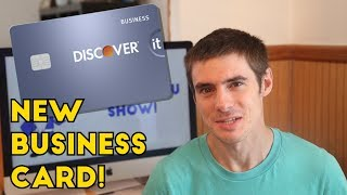 New DISCOVER IT BUSINESS CARD: 3% Cash Back For First Year!