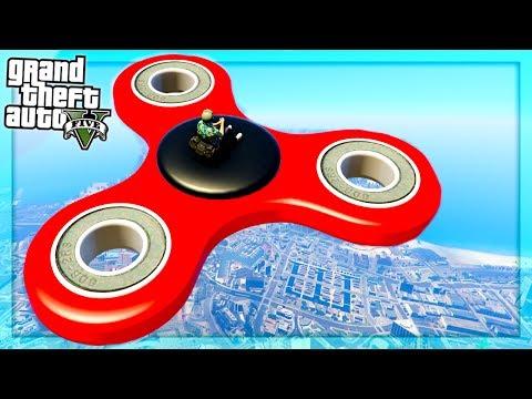 GTA 5 : Giant Fidget Spinner? (GTA 5 Mods)