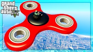 GTA 5 : Giant Fidget Spinner? (GTA 5 Mods)