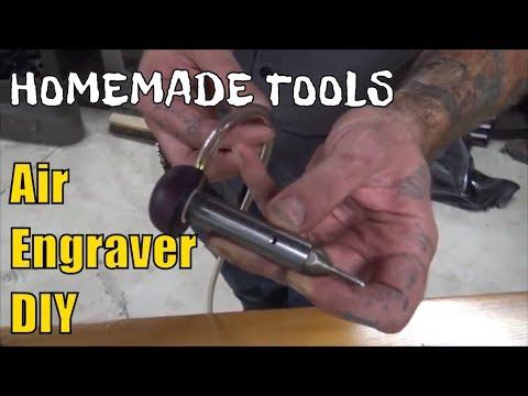 How To Make A Pneumatic Air Engraver Machine