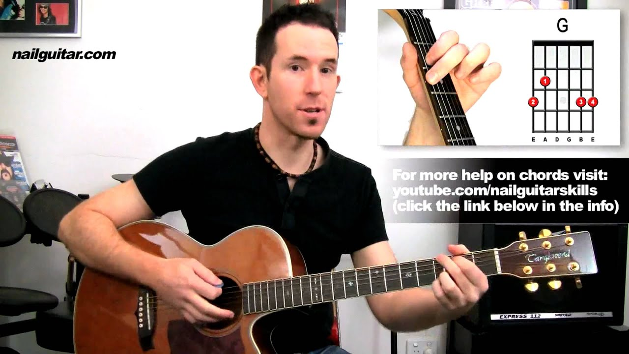 guitar lessons knockin on heavens door by bob dylan easy beginners rh youtube com