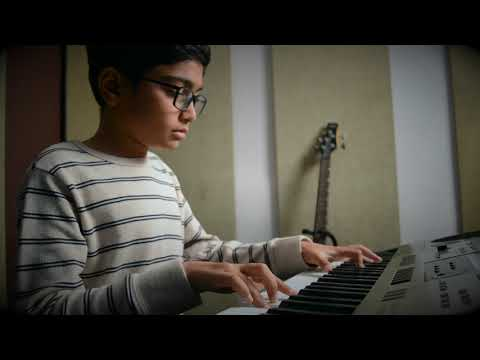 Kalank - Title track | Keyboard cover by Vihaan @ HoR
