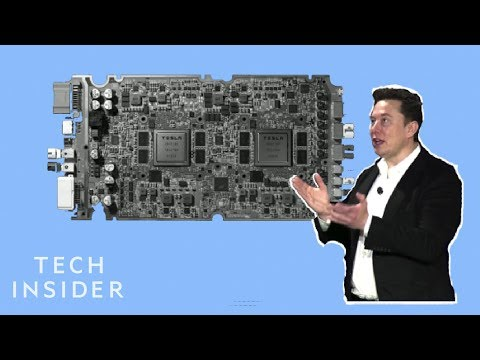 Watch Tesla Unveil Its Full Self-Driving Computer In Under 5 Minutes