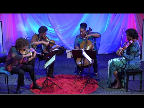 Creating New and Diverse Audiences | Marian Anderson String Quartet | TEDxBlinnCollege