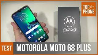 MOTOROLA MOTO G8 PLUS - test par TopForPhone