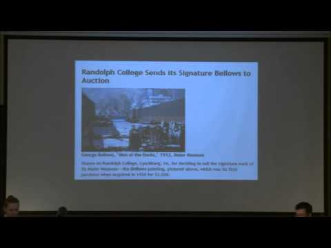 21st Century Museum Issues Lecture Series: Capitalizing Collections