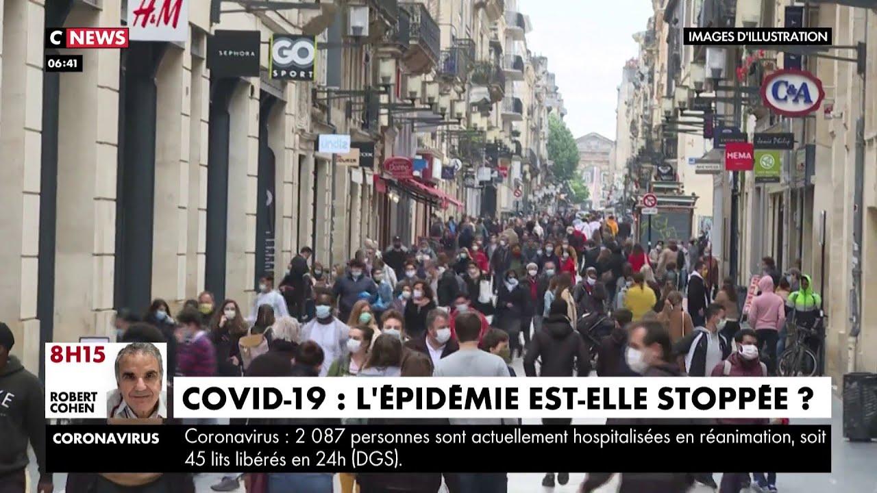 Covid-19: l'épidémie est-elle en train de se stopper en France ?