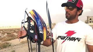 Tareq Alsaadi testing new tail support from Align for Trex 700X  طارق السعدي