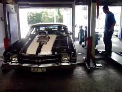 Mufflers 4 Less >> chevelle ss with 1471 blower - YouTube