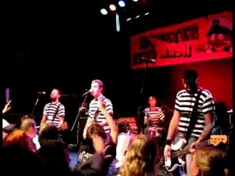 The Manges live at Monster Zero Mash, Rotterdam, Holland