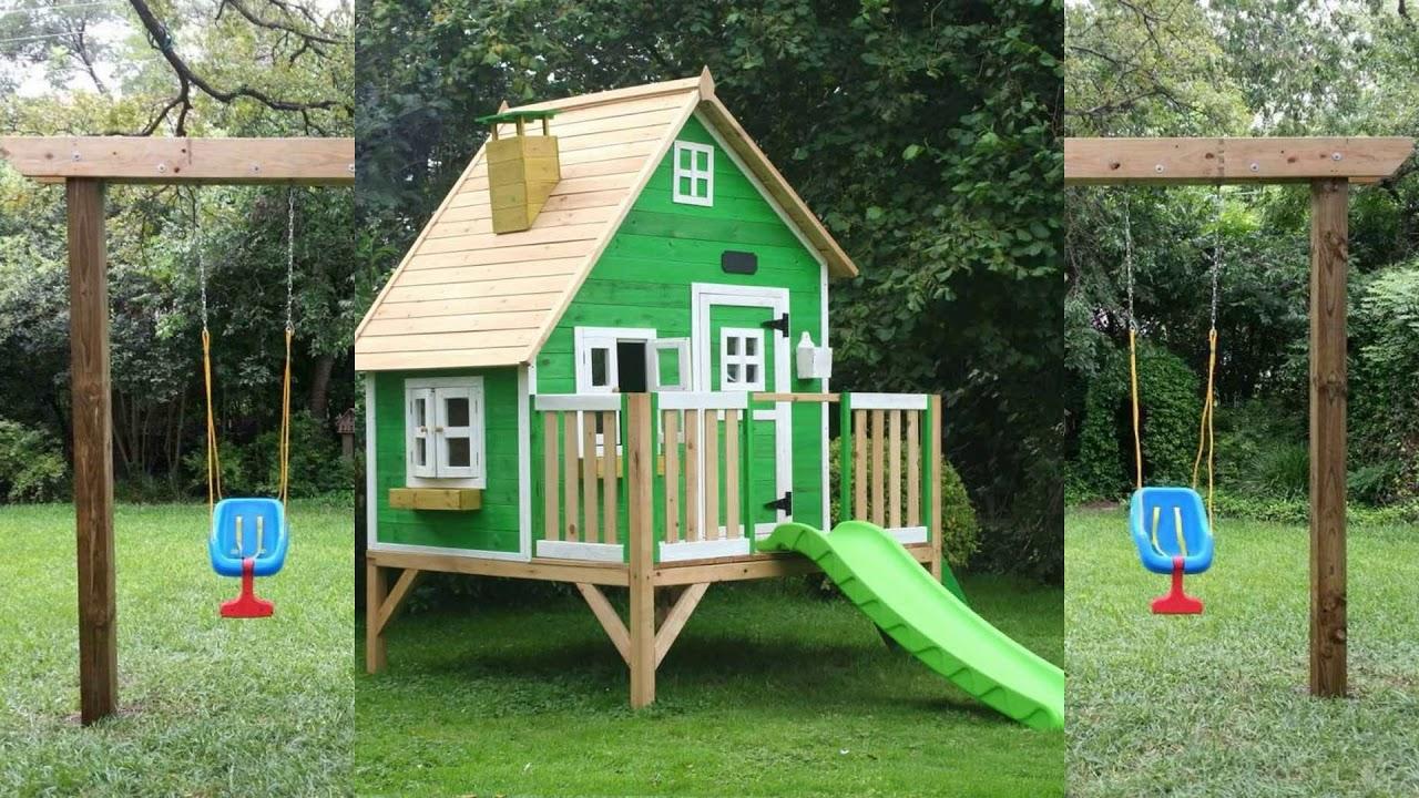 Идеи детских площадок: оформление, 75 фото  (Playground Ideas images)