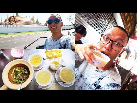 Outside Bangkok Grand Palace พระบรมมหาราชวั + China Town [THAILAND VLOG]   BANGKOK ONLY Episode 7
