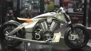 Victory CORE Concept Bike at the 2009 New York Motorcycle Sh