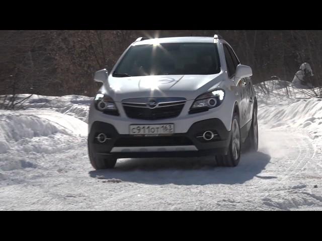 тест Opel Mokka  www.skorost-tv.ru
