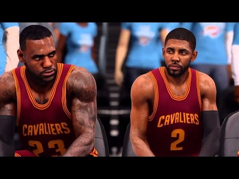 EA SPORTS™ NBA LIVE 17 Remake - Cleveland Cavaliers Vs Los Angeles Lakers
