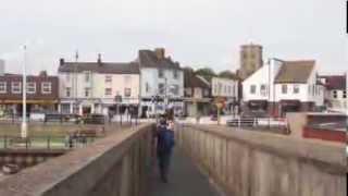 Walk Across The Original Shoreham Footbridge