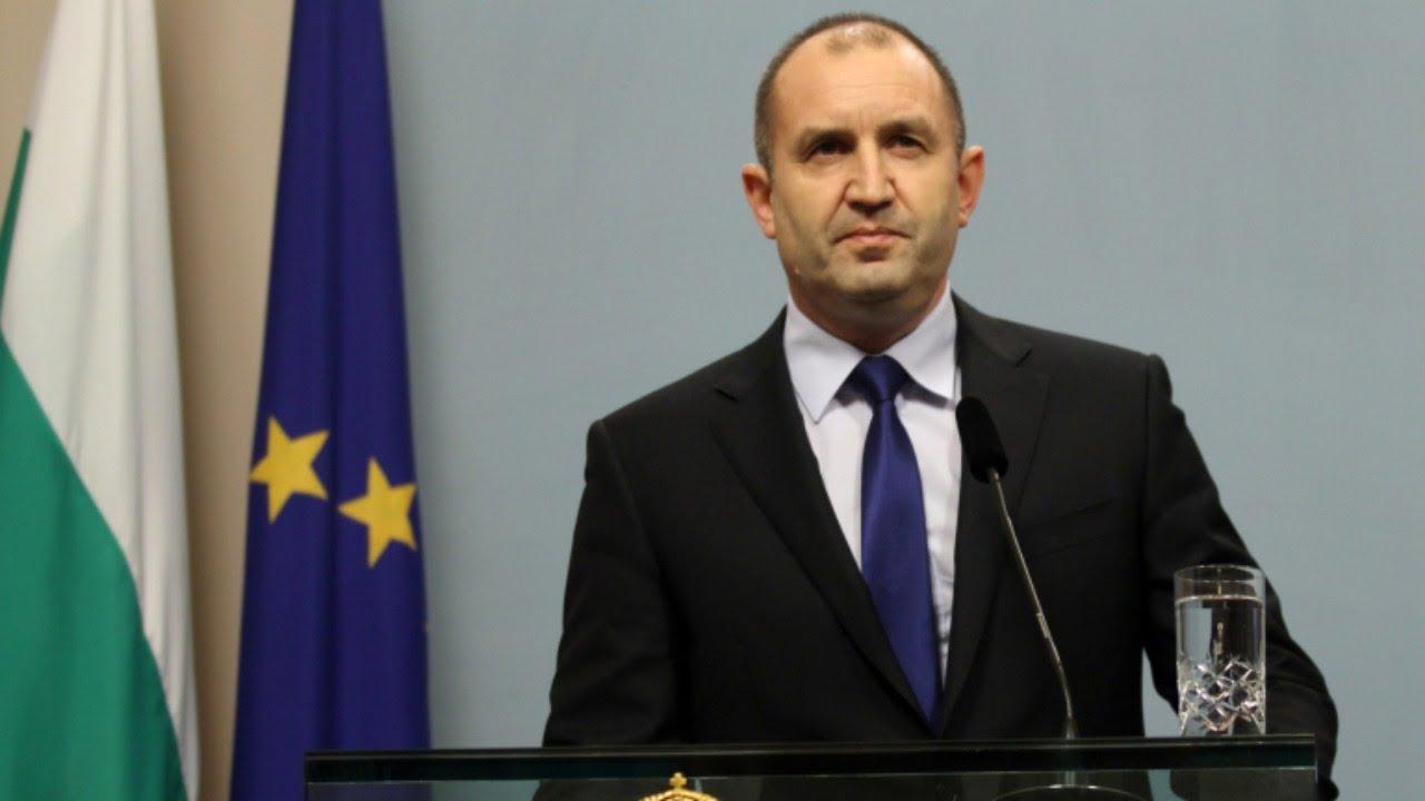 (VIDEO) - Обръщение към народа на президента Румен Радев!