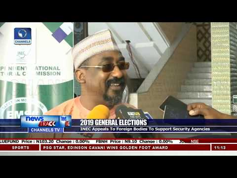 2019 Elections: UN, ECOWAS Delegation Commends INEC On Work