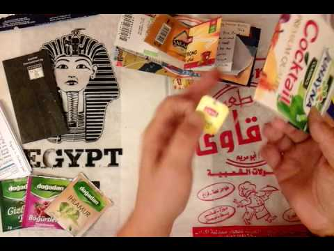 Trashy Travel Junk Journals from Egypt