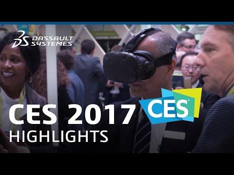 CES 2017 - Highlights - Dassault Systèmes