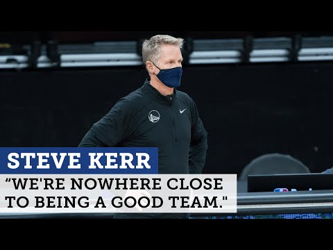 Steve Kerr says Warriors 'nowhere close' after 125-99 loss to Kevin Durant's Nets | NBC Sports BA