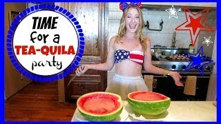 TIME FOR A TEA-QUILA PARTY! July 4, 2014 | Blair Fowler