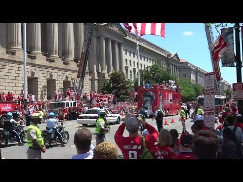 2018 Washington Capitals Championship Parade 6.12.18