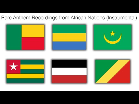 Rare Anthem Recordings from African Nations (Instrumental)