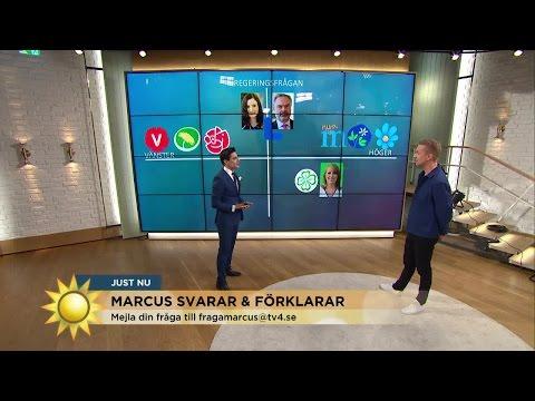 "Marcus Oscarsson: ""Cecilia Malmström kan bli statsminister"" - Nyhetsmorgon (TV4)"