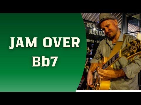 Bb Guitar Jam( Smooth Jazz-Blues Style)