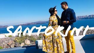 Honeymoon in Santorini -  Part 1