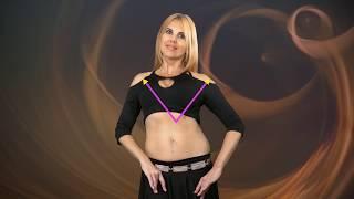 Обучение Восточным танцам (Bellydance). Вертикальные движения грудью.