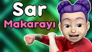 Sar Makarayı Çocuk Diskosu - Bebekler ve Çocuklar İçin Eğlenceli Şarkılar