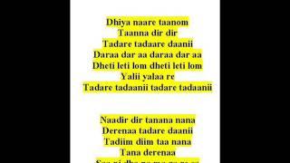 ramkrishna das sings trivat- raag mishra bhairavii-dhiya naare taanom