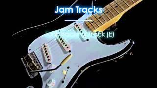 Funk Backing Track (E)