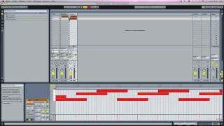 Ableton Live: export note arpegiator