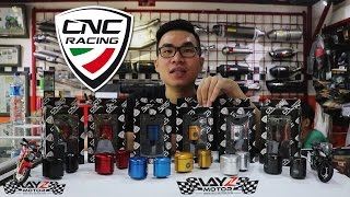 CNC Racing Fluid Tanks (Tabung Rem CNC Racing) Review by Layz Motor (All Colors and Carbon)