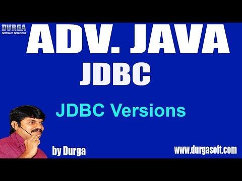 adv-java-||jdbc-session---7-||-jdbc-versions-by-durga-sir