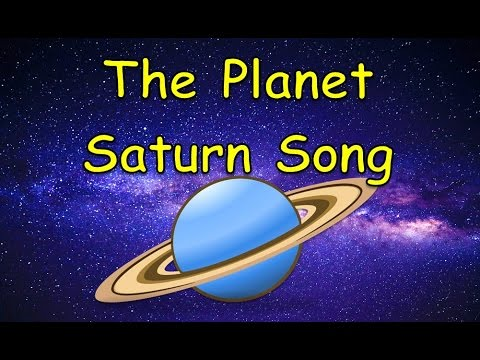 The Planet Saturn Song | Planet Songs for Children ...