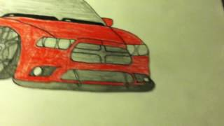Paul Walkers Toyota Supra Drawing And More (awesome Car Drawings)
