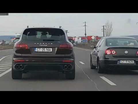 Acest IDIOT a făcut asta în trafic pe străzile din ROMÂNIA